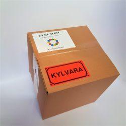 Produktbild på Låda med 11 flaskor kombucha och/eller tibicos
